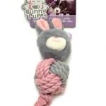 Knuffelkonijn met lavendel