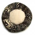 Donut mand Handmade with love Tijgerprint/Beige