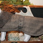 Trendy Hondenjas in tweed